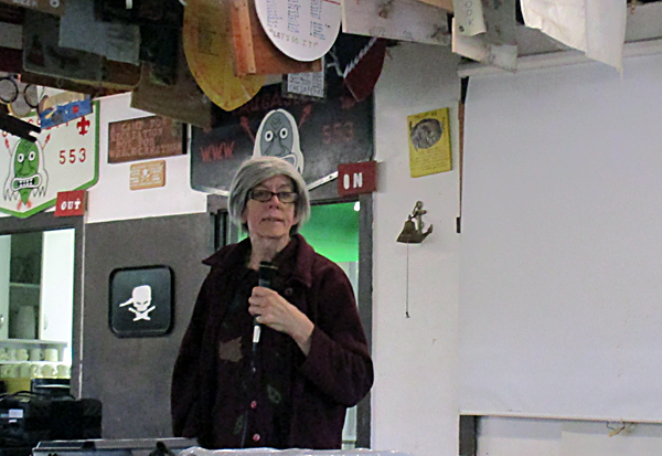 Gaianne Jenkins described her work on the Metonic lunar calendar, and she gave working lunar calendars to all those present.